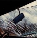 «Нива» врезалась в столб на Маймаксанском шоссе Архангельска