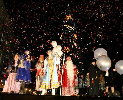 Афиша Новогодних праздников в Архангельске