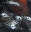 В Архангельске неизвестные обстреляли автомобиль «Тойота Лэнд Крузер»