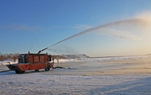 В Виноградовском районе готовят к открытию ещё две ледовые переправы