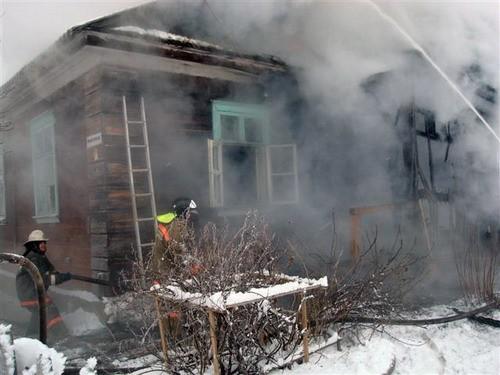 От огня в Архангельской области пострадало пять домов