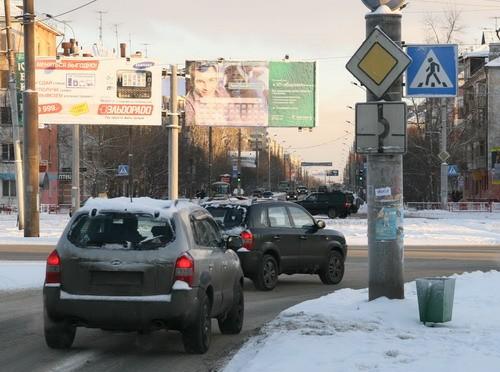 В Архангельске изменят схему проезда трёх перекрёстков с круговым движением