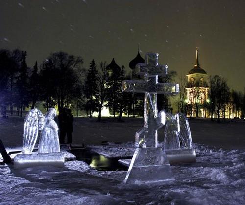 На фестивале ледовых скульптур в Каргополе соорудят героев сказок северных писателей