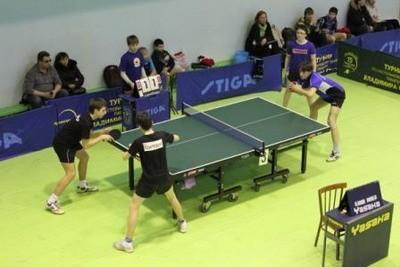 В Архангельске стартовало первенство округа среди кадетов по настольному теннису