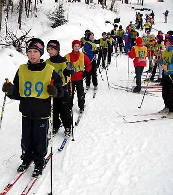 На зимней спартакиаде учащихся Архангельская область пока на втором месте