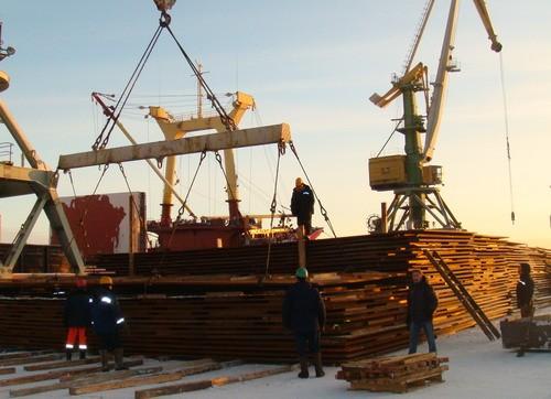 Архангельский морской порт планирует привлекать новые грузопотоки
