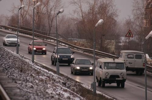 В Архангельске меняется схема движения на кольцах и при съезде с железнодорожного моста
