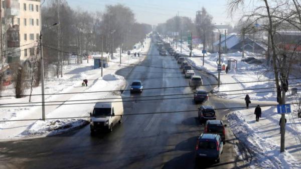В Архангельске начались работы по расширению Ленинградского проспекта