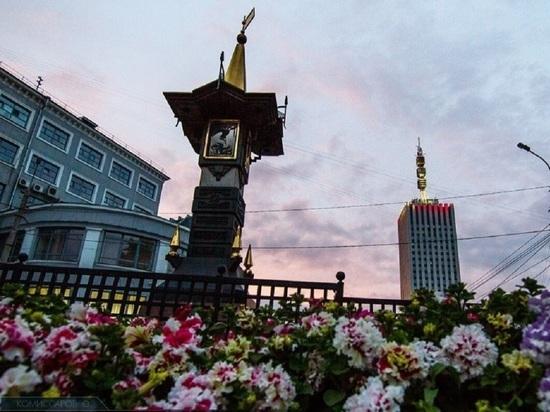 В Архангельске начали высаживать цветы