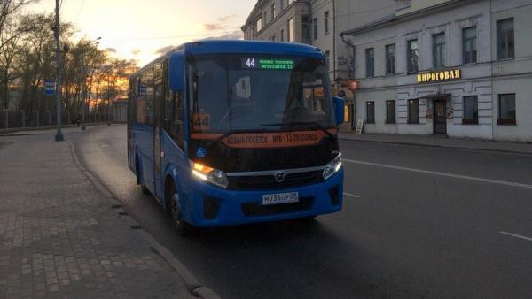 С 10 июля автобус №44 будет ходить до Жаровихинского кладбища