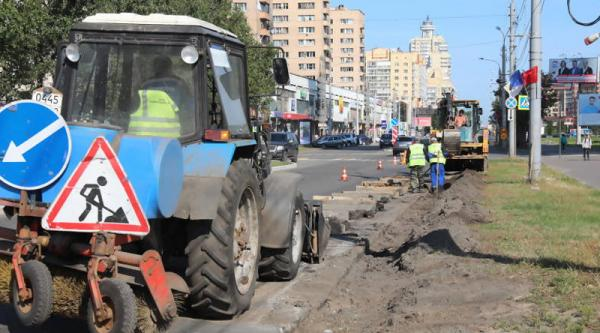На пяти улицах Архангельска проводится ремонт дорожного покрытия