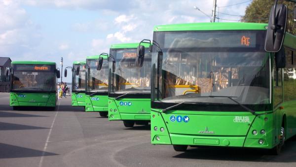 В день выборов новые «МАЗы» выйдут на три городских маршрута