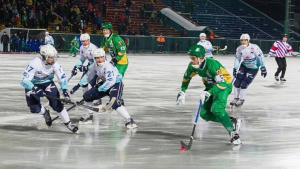 Архангельский «Водник» одержал волевую победу над иркутской «Байкал-Энергией»