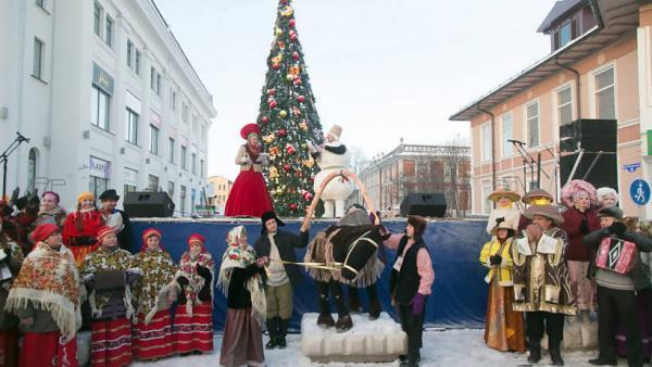 В Архангельске первая городская елка откроется 24 ноября