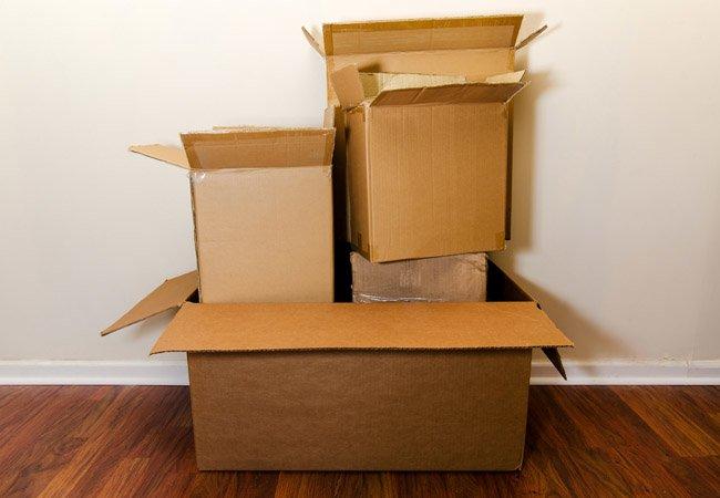Картонные коробки, стрейч, скотч, картон