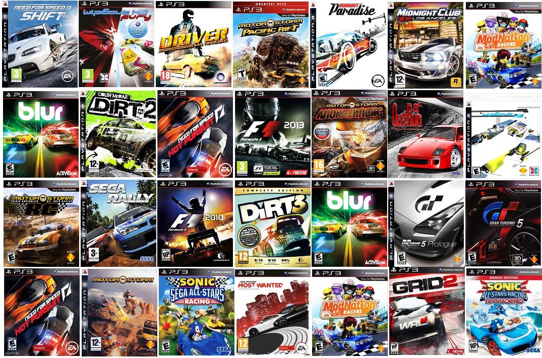 Какие бывают игры на Sony PlayStation 3?